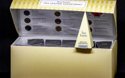 Set pyramidálních čajů